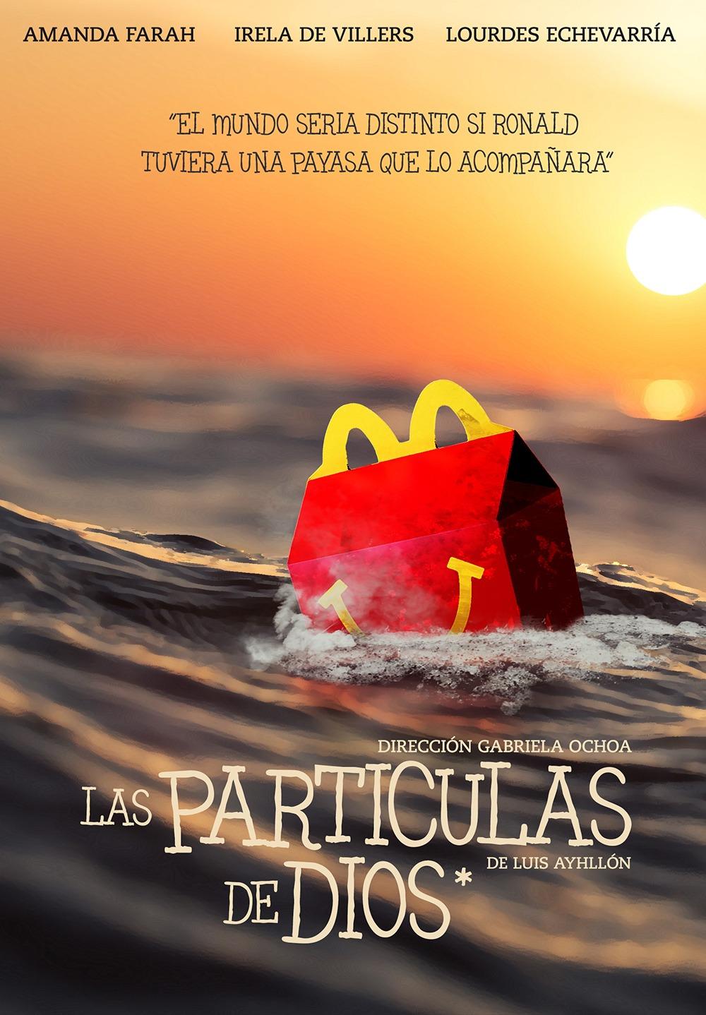 Poster de Las Particulas de Dios